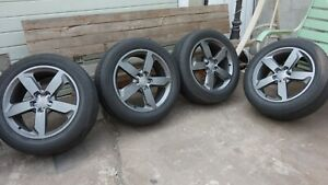 Audi Q5 2009 2016 19 Factory Oem Wheels And Tires Set