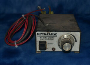 Sno Way Opta Flow Salt Spreader Controller