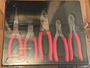 Snap On Pl500gs 5pc General Service Pliers Set Sealed Free Ship