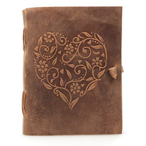 Leather Journal For Women Beautiful Handmade Genuine Leather Bound Notebook