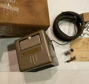 Nos Vintage Chevy Ford Jeep Dodge International Recirculating Heater Complete