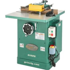 Grizzly G1026 3 Hp Shaper