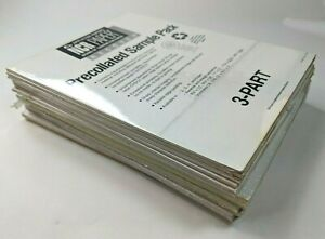 Ncr Precollated Paper Sample Pack 8 x11 1995