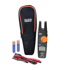 Klein Tools Fork Meter Open Jaw Electrical Tester Backlit Display Ac 200 Amp