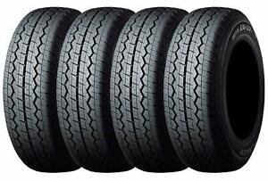 For Honda Acty Truck Tires New Set Of 4 145r12 Dunlop Ems