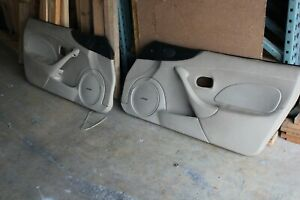 2001 2002 2003 2004 2005 Mazda Miata Mx 5 Door Panels Oem Tan