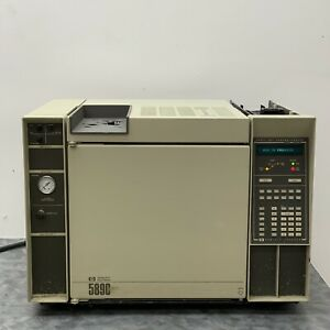 Hp Agilent 5890a Gas Chromatograph W Fid Detector Purged Packed Inlet For Gc