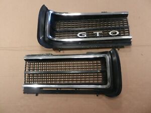 1969 Pontiac Gto Left Right Grills Grilles Judge Ram Air