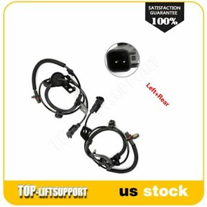 2 Rear And Left Abs Wheel Speed Sensor Assembly Fits Dodge Caliber For 2007 2012