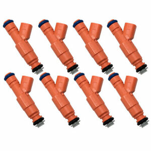 8 Fuel Injectors 0280155917 Fits 2000 07 Dodge Ram 1500 1500 Van 5 2l 5 9l V8