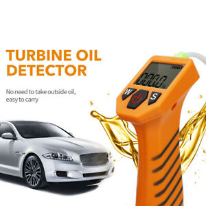 Engine Oil Tester For Auto Check Oil Quality Detector Led Display Gas Analyzer