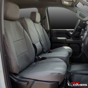 Custom Fit Canvas Front Seat Covers For The 217 2020 Ford F 250 And F 350