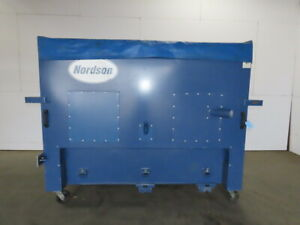 Nordson Excel 2001 Powder Coat Booth Reclaim Color Module Collector W Cover