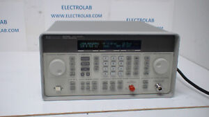Agilent 8648d 9khz 4ghz Synthesized Signal Generator Opt 1ea