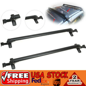 Top Roof Rack For Ford Focus Honda Civic Baggage Luggage Carrier Cross Bar 2pcs
