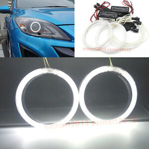 Ccfl Halo Rings For Mazda 3 Projector 2010 2013 Car Headlight Angle Eye Lamp Drl