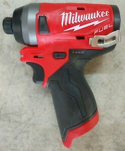 New Milwaukee M12 Fuel 1 4 3 Speed Impact Driver Model 2553 20