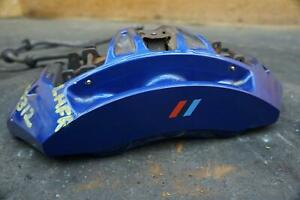 Front Left Brake Caliper Blue 34117845747 Oem Bmw M5 F10 2012 16 M6 F12 2012 19