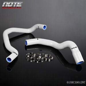 For Cherokee Xj 1984 2005 Jeep 4 0l 242 Cid L6 White Silicone Radiator Hose