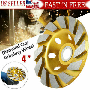4inch Diamond Segments Grinding Wheel Disc Concrete Stone Cutter 100 Mm