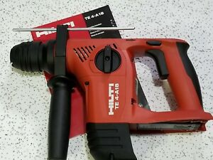 Hilti Te 4 a18 Hammer Drill Tool Only used