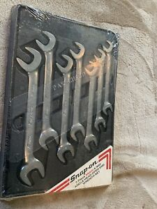 Snap On Vsm807b 7pc Metric 4 Way Angle Open Head Wrench Set Sealed