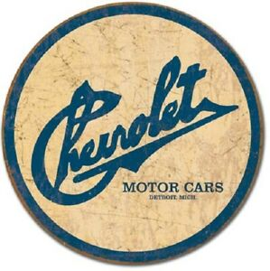 Chevrolet Motor Detroit 12 Vintage Style Metal Signs Gas Pump Garage Man Cave