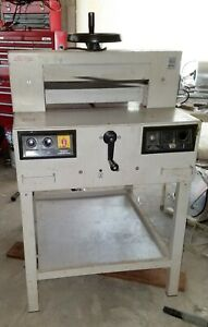 Triumph Ideal Paper Cutter 4810a