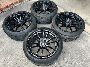 Rays Gram Lights 57xtreme Semi Gloss Black With Tires 19x10 5 43 25 255 40 19