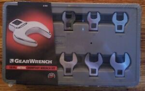 Gearwrench 10 Pc 3 8 Drive Crowfoot Metric Wrench Set 81909 10 Piece