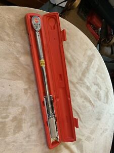 Snap On Qjr3200c 1 2 Drive Torque Wrench 50 200 Ft Lb