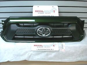 Toyota Tacoma Sport Spruce Mica 6v4 Painted Grille Genuine Oem Oe