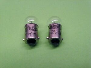 Lot Of 2 Hosobuchi Microscope Bulbs 12 Volt 6 Watt new Old Stock