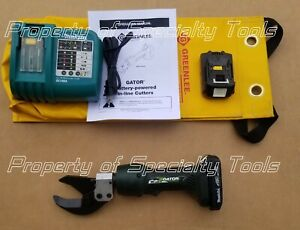 Greenlee Gator Es32l Battery Hydraulic Wire Cutter Cable Cutting Es32l11 Tool