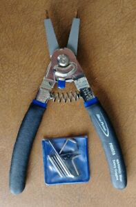 New Blue Point Tools 8 Long Convertible Retaining Ring Pliers Prh57a