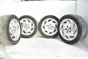 1993 1995 Chevrolet Corvette C4 Set Of 4 Wheels And Tires 8 Fan Spokes
