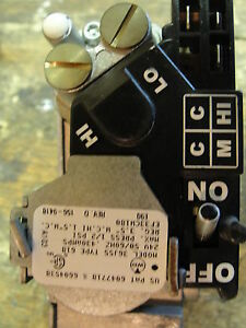 Carrier Furnace gas Valve White Rodgers 36j55 618 Part Ef33cw180