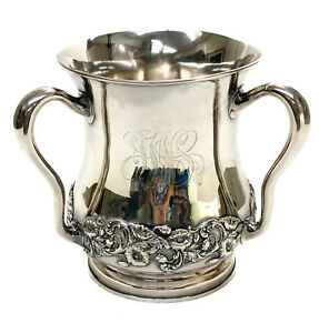 Large Gorham Sterling Silver 6 Pint Loving Cup A1335 1899