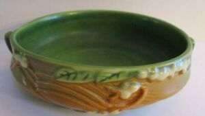 Roseville Snowberry 1BL1 6 Bowl Great Condition