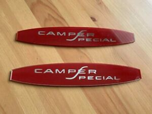 65 66 Ford Camper Special Badge Inserts
