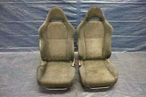 2002 04 Acura Rsx Base Coupe K20a3 2 ol Oem Cloth Lh Rh Front Seat damage