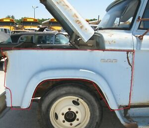 1961 1962 1963 1964 1965 Dodge D300 W300 Pickup Truck Left Front Fender