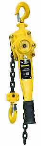 Sumner 787547 Sumner Lever Hoist 1 1 2 Ton With 10 Chain Fall