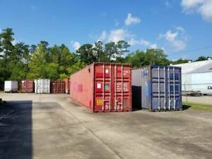Shipping Storage Train Container