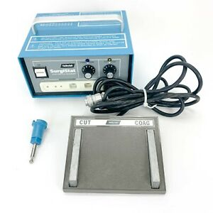Valleylab Surgistat B Solid State Electrosurgery Generator W footswitch E6006 11