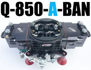 Quick Fuel Q 850 a ban 850 Annular Alcohol Mech Blow Thru With 8 Fittings