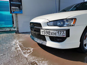 Mitsubishi Lancer 2007 2008 2009 2010 2011 Middle Central Front Lip Spoiler