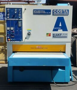 Costa Akf Ct 1350 53 Wide Belt Sander W sectional Platen woodworking Machinery