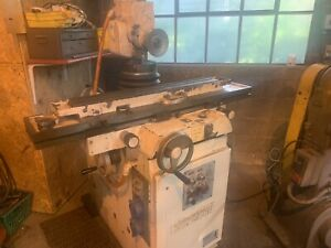 Cincinnati Tool And Cutter Grinder Tilt Dual Hub Spindle Model 2mt Nice Machine