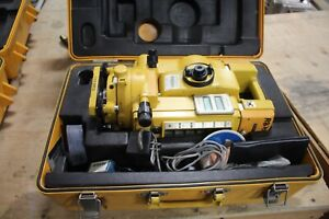 Topcon Gts 3b Surveying Station Transit In Hard Case